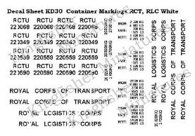 Container Markings RCT/RLC- White